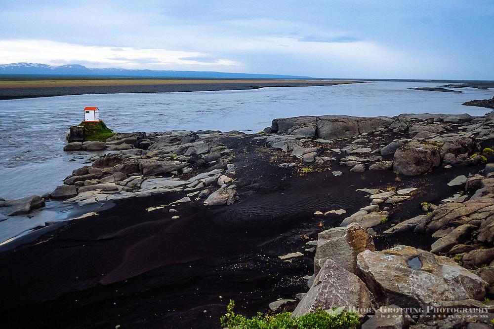 Iceland. Oxarfjordur on the North coast.