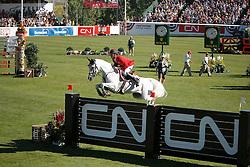 Schwizer Pius (SUI) - BMC Loving Dancer<br /> CN International Grand Prix<br /> Spruce Meadows Masters - Calgary 2009<br /> © Dirk Caremans