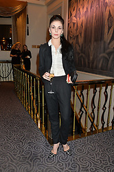 Ballerina NATALIA OSIPOVA at the Gift of Life Gala Ball celebrating the Russian Old new Year's Eve in aid of the Gift of Life foundation held at The Savoy, London on 13th January 2015.