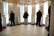 a fancy male public urinal toilet Japan