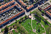 Nederland, Overijssel, Zwolle, 01-05-2013;<br /> de wijk Diezerpoort, Ferdinand Bolstraat<br /> Residential area.<br /> luchtfoto (toeslag op standard tarieven)<br /> aerial photo (additional fee required)<br /> copyright foto/photo Siebe Swart