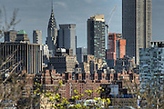 Manhattan Skyline from Hoboken Pier