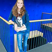 NLD/Hilversum/20130822 - Cast nieuwe TROS-jeugdserie CAPS CLUB, Eefje Paddenburg