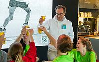 AMSTERDAM- Eerste ronde VODW Business Cup bedrijfshockey. Maton Sonnemans (VODW). FOTO KOEN SUYK