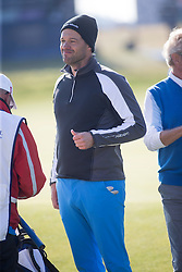 Michael Ballack. Players art the 18th, Alfred Dunhill Links Championship at the Championship Course at Carnoustie.