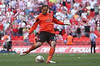 Football - NPower League 1 Play-off Final - Huddersfield Town vs Sheffield United<br /> GoalKeeper Steve Simonsen of Sheffield misses a penalty causing his team to lose