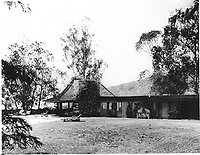 1960s Pool house & pool, designed by Frank Wright, located in Runyon Canyon, was owned by Huntington Hartford.