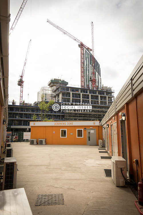 Construction Skills Centre, Southwark - training facility to deliver 'real life' construction experience particularly to those who live and work locally. South London UK 2017