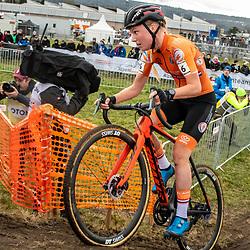 20190201: UCI CX Worlds : Dübendorf:: Annemarie Worst chasing