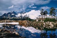 Mt. Baker, Alpine Pond, Park Butte, WA