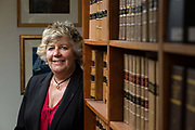 Editorial Portrait of Lady Dorrian, The Lord Justice Clerk, taken at Parliament House Edinburgh.