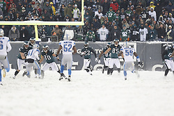 Philadelphia Eagles cornerback Brandon Boykin #22 returns a punt during the NFL game between the Detroit Lions and the Philadelphia Eagles on Sunday, December 8th 2013 in Philadelphia. The Eagles won 34-20. (Photo by Brian Garfinkel)