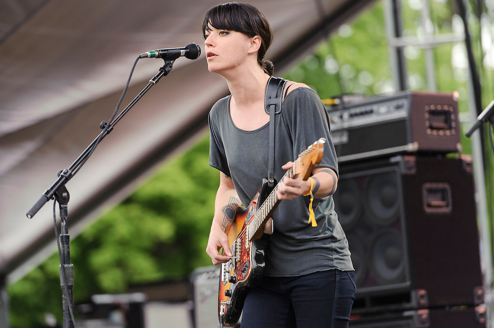Photos of Sharon Van Etten performing live at The Great GoogaMooga Festival at Prospect Park in Brooklyn, NY. May 18, 2013. Copyright © 2013 Matthew Eisman. All Rights Reserved