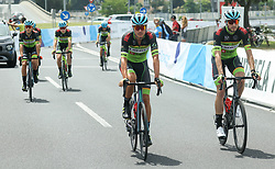 Uros Repse, Leon Sarc during Slovenian National Road Cycling Championships 2021, on June 20, 2021 in Koper / Capodistria, Slovenia. Photo by Vid Ponikvar / Sportida