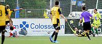Fotball<br /> 14.08.2014<br /> Førstedivisjon<br /> Bærum v Tromsø 2:1<br /> Foto: Morten Olsen, Digitalsport<br /> <br /> Bærum scorer 2:0<br /> Benny Lekstrøm (1) - TIL<br /> Andreas Aalbu (37) - Bærum