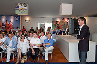 ROTTERDAM - Hockey- Simon Keizer van M&M. VOLVO CLUBBONUS MEETING tijdens de Hockey World League in Rotterdam. FOTO KOEN SUYK