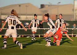 - Photo mandatory by-line: Alex James/JMP - Mobile: 07966 386802 - 04/10/2014 - SPORT - Football - Bristol - Stoke Gifford Stadium - Bristol Academy Womens v Notts County Ladies - Womens Super League