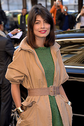 Alessandra Mastronardi arriving at the Chanel show as a part of Paris Fashion Week Ready to Wear Spring/Summer 2017 on October 4, 2016 in Paris, France. Photo by Julien Reynaud/APS-Medias/ABACAPRESS.COM