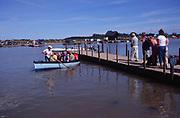 AMHJC9 Ferry River Blythe Walberswick Suffolk England