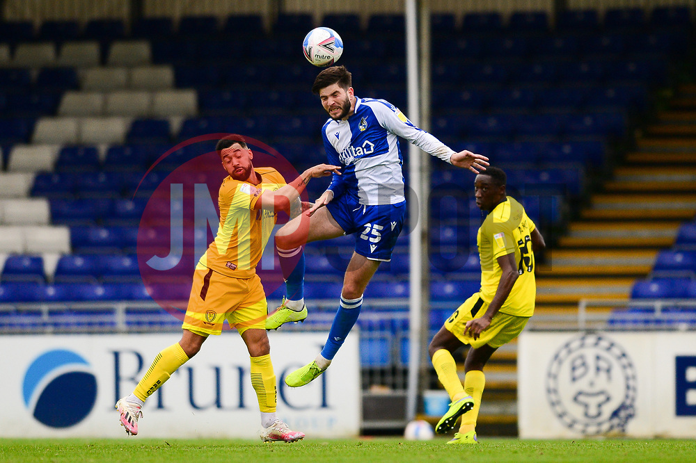 Cian Harries of Bristol Rovers - Mandatory by-line: Dougie Allward/JMP - 17/10/2020 - FOOTBALL - Memorial Stadium - Bristol, England - Bristol Rovers v Burton Albion - Sky Bet League One