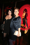 SADIE FROST AND SAMANTHA MORTON, Agent Provocateur celebrate the launch of Agent Provocateur Maitresse Gold Edition. The Grill Room. Cafe Royal London. 3 October 2007. -DO NOT ARCHIVE-© Copyright Photograph by Dafydd Jones. 248 Clapham Rd. London SW9 0PZ. Tel 0207 820 0771. www.dafjones.com.