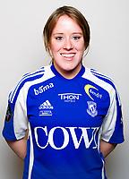 Fotball Toppserien 2008 portrett portretter<br /> Kattem , KAT<br /> Randi Karen Lied<br /> Foto: Eirik Førde