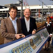 Persconferentie Joop van den Ende ivm start samenwerking met de NS, .Nederlandse Spoorwegen,