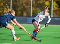 AMSTELVEEN - Fabienne Roosen (SCHC)  tijdens de competitie hoofdklasse hockeywedstrijd dames, Pinoke-SCHC (1-8) . COPYRIGHT KOEN SUYK