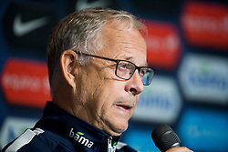 September 3, 2018 - Oslo, NORWAY - 180903 Lars Lagerbäck, head coach of Norway, during a press conference on September 3, 2018 in Oslo..Photo: Jon Olav Nesvold / BILDBYRÃ…N / kod JE / 160303 (Credit Image: © Jon Olav Nesvold/Bildbyran via ZUMA Press)