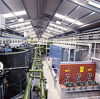 water treatment plant in Burnley, Lancashire