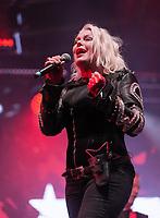 Kim Wilde performing live on stage during Solihull Summerfest Tudor Grange Park Solihull  West Midlands 2021