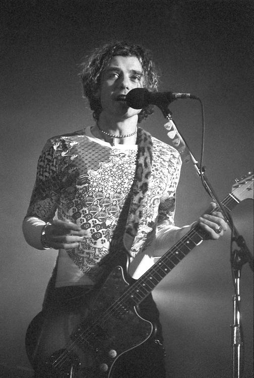 BETHLEHEM - FEBRUARY 2: Gavin Rossdale of the band Bush performs at Stabler Arena on February 2, 1996, in Bethlehem, Pennsylvania. ©Lisa Lake