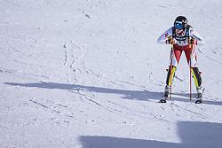 15.02.2021, Cortina, ITA, FIS Weltmeisterschaften Ski Alpin, Alpine Kombination, Damen, Slalom, im Bild Franziska Gritsch (AUT) // Franziska Gritsch of Austria reacts after the Slalom competition for the women's alpine combined of FIS Alpine Ski World Championships 2021 in Cortina, Italy on 2021/02/15. EXPA Pictures © 2021, PhotoCredit: EXPA/ Johann Groder