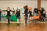 Middletown, New York - Dancers from the  Sheahan-Gormley School of Irish Dance perform at the Middletown Elks Lodge on March 9, 2019.