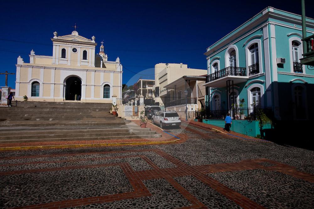 The church of San German de Auxerre in San German Puerto Rico