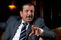 2010, BERLIN/GERMANY:<br /> Yousef Hussein Kamal, Wirtschafts- und Finanzminister Katar, waehrend einem Interview, Hotel Ritz-Charlton<br /> IMAGE: 20101216-01-006<br /> KEYWORDS: Yousef Hussain Kamal, Qatar