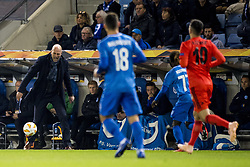 November 8, 2018 - Genk, BELGIUM - Genk's head coach Philippe Clement reacts during a match between Belgian soccer team KRC Genk and Turkish club Besiktas, in Genk, Thursday 08 November 2018 on day four of the UEFA Europa League group stage, in group I. BELGA PHOTO JASPER JACOBS (Credit Image: © Jasper Jacobs/Belga via ZUMA Press)