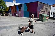 20180317/ Nicolas Celaya - adhocFOTOS/ URUGUAY/ MONTEVIDEO/ BARRIO TRES CRUCES/ Festival de arte urbano organizado por el colectivo Casa Wang, ex carcel de mujeres Cabildo, Montevideo.<br /> En la foto: Festival de arte urbano organizado por el colectivo Casa Wang, ex carcel de mujeres Cabildo, Montevideo. Foto: Nicolás Celaya /adhocFOTOS