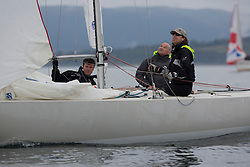 Largs Regatta Week 2015, hosted by Largs Sailing Club and Fairlie Yacht Club<br /> <br /> Etchell, 953, Excalibur, Brian Young<br /> <br /> Credit Marc Turner