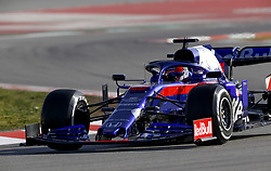 February 18, 2019 - Barcelona, Spain - Motorsports: FIA Formula One World Championship 2019, Test in Barcelona, ,  #26 Daniil Kwjat (RUS, Team Toro Rosso) (Credit Image: © Hoch Zwei via ZUMA Wire)
