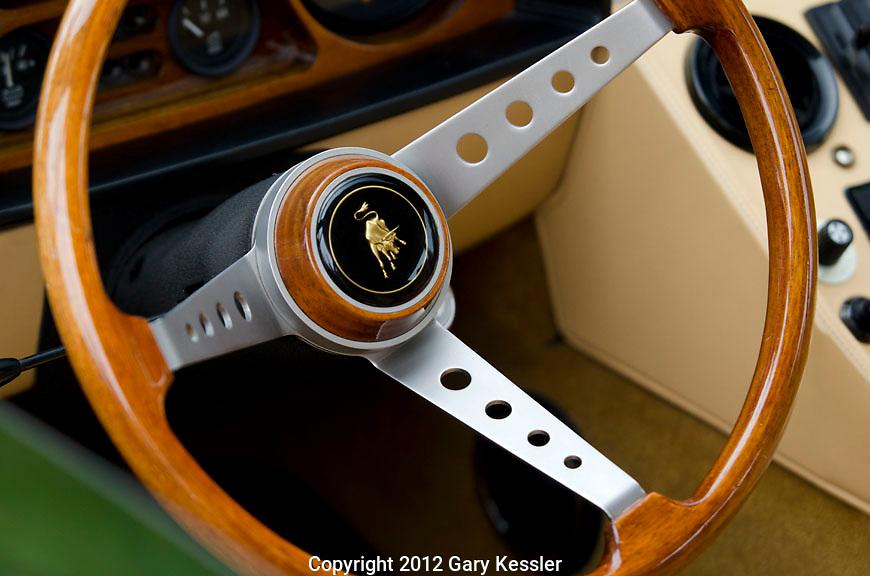 Lamborghini Espada Steering Wheel,Keeneland Concours D'Elegance,Lexington,Ky.