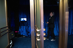 Joaquin Phoenix backstage during the live ABC Telecast of The 93rd Oscars® at Union Station in Los Angeles, CA, USA on Sunday, April 25, 2021. Photo by Richard Harbaugh/A.M.P.A.S. via ABACAPRESS.COM