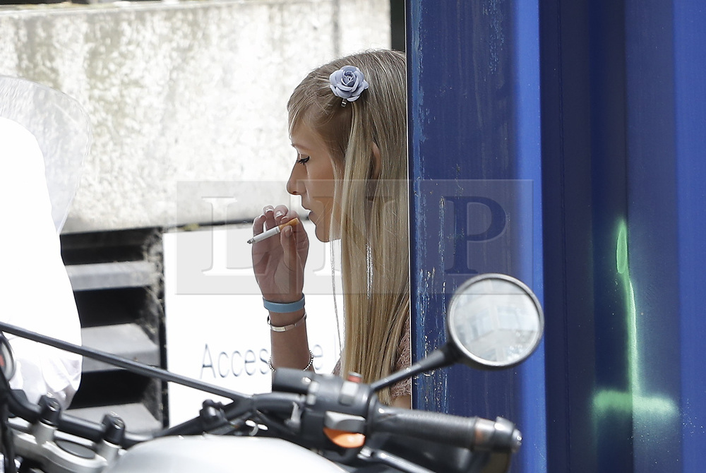 © Licensed to London News Pictures. 13/07/2017. London, UK. Connie Yates is seen outside at The High Court after disagreeing with the judge. The parents of terminally ill Charlie Gard have returned to the High Court in light of new evidence relating to potential treatment for their son's condition. An earlier lengthy legal battle ruled that Charlie could not be taken to the US for experimental treatment. London, UK. Photo credit: Peter Macdiarmid/LNP