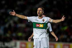 October 25, 2017 - Elche, Elche, Spain - Edu Albacar reacts during the Spanish Copa del Rey (King's Cup) round of 32 first leg football match between.Elche CF and Atletico de Madrid at the Martinez Valero stadium in Elche (Credit Image: © Sergio Lopez/Pacific Press via ZUMA Wire)