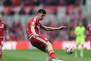 Middlesbrough FC defender Daniel Ayala during the Sky Bet Championship match between Middlesbrough and Brighton and Hove Albion at the Riverside Stadium, Middlesbrough, England on 7 May 2016.
