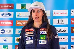 Klara Livk at media day of Ski Association of Slovenia before new winter season 2018/19, on October 4, 2018 in Ski resort Pohorje, Maribor, Slovenia. Photo by Grega Valancic / Sportida