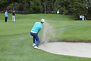 Tom Murray (ENG) on the 15th during Round 3 of the Volopa Irish Challenge in Tullow, Co. Carlow on Saturday 10th October 2015.<br /> Picture:  Thos Caffrey / www.golffile.ie
