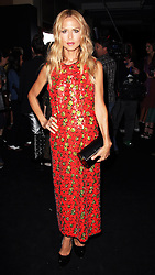 Rachel Zoe at the Marc Jacobs show  at  New York Fashion Week, Monday, 10th  September 2012. Photo by: Stephen Lock / i-Images