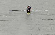 "Seville. SPAIN, 17.02.2007, GBR M2- bow Matt LANDGRIDGE and Steve WILLIAMS, clear the ""Puente de la Barqueta"" [bridge] during Saturdays heats, of the FISA Team Cup, held on the River Guadalquiver course. [Photo Peter Spurrier/Intersport Images]    [Mandatory Credit, Peter Spurier/ Intersport Images]. , Rowing Course: Rio Guadalquiver Rowing Course, Seville, SPAIN,"