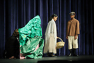 """Middletown, N.Y.  - Mechanicstown Elementary School students perform the play """"The Glass Slipper"""" on stage at Middletown High School on May 7, 2009."""